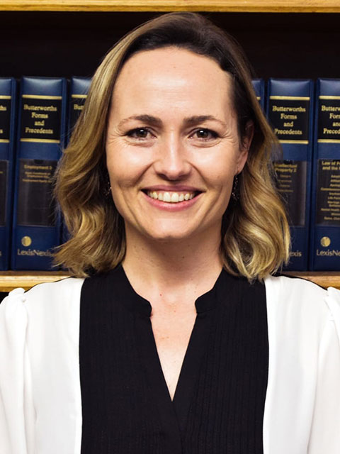 Aretha Jordaan | Van Der Westhuizen Le Roux Inc | Lawyers in the Northern Cape