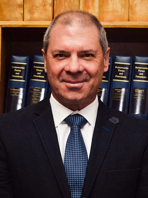 Drikus le Roux | Van Der Westhuizen Le Roux Inc | Lawyers in the Northern Cape
