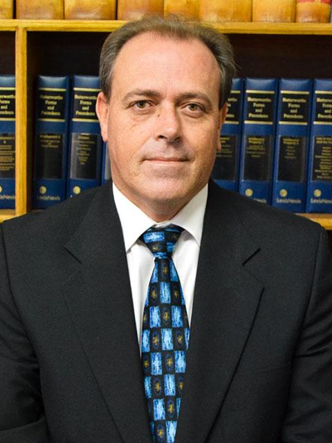 Gideon van der Westhuizen | Van Der Westhuizen Le Roux Inc | Lawyers in the Northern Cape